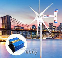 1.8KW 24 V AC 6 Blade Wind Turbine Generator with Charge Controller