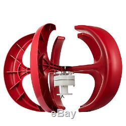 100400W Lantern Wind Turbine Generator Vertical Axis Controller Hot
