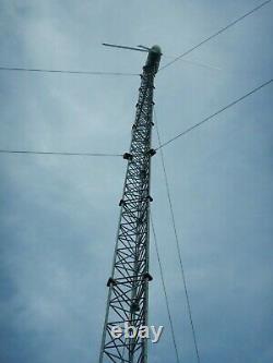10kW Bergey Wind Turbine on 100 foot Lattice Tower