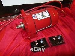 12V Light Wind Dual Permanent Magnet Alternator Wind Turbine Generator PMA