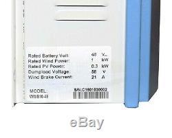 1KW Wind Turbine 48V Generator Kit Boat UK Stock OffGrid Power Charge Controller