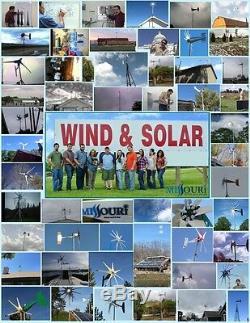 24 Volt 1500 Watt Divert Dump Load Resistor Bank for Wind Turbine Generators