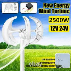 2500W Lantern Wind Turbine Generator with Controller High Power Boat/Marine