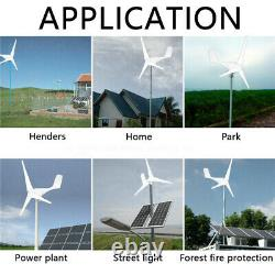 3 Blades 8000W Max Power DC 24V Wind Turbine Generator Kit with Charge Controller