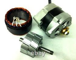 3000 Watt PMA PMG 24 VAC Dual Core Permanent Alternator Wind Generator type