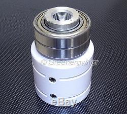 3200 W WindZilla PMA 12V AC 12 Blade Wind Turbine Generator+ 225A Slip Ring+Hub