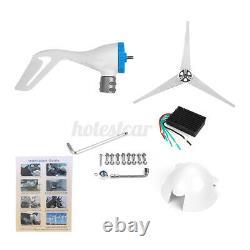 3700W Wind Turbine Genertor Kit 12/24V With Controller Regulator 3 Blades For Home