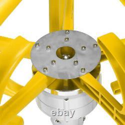 4000W 12V/24V Auto Wind Turbine Generator Lanterns Vertical Axis 5 Blades