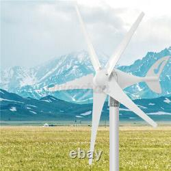 4000W 3/5 Blade Wind Turbines 12/24V With Charge Controller Generator Home Power