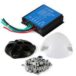 400W Wind Turbine Generator Kit 3 Blades With DC 12V Charge Controller 20A