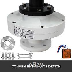 400w Magnetic Levitation Wind Generator Vertical Axis Turbine MPPT Controller