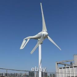 400w Wind generator 12v Wind Turbine 3 Blades for Boat House Garden Street light