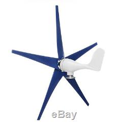 5 Blades 5000W Wind Turbine Generator Unit DC 12V W. Power Charge Controller USA