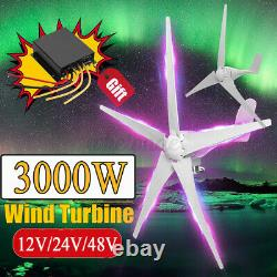 5 Blades 800W Max Power 12/24/48V Wind Turbine Generator withCharge