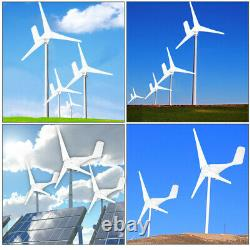 5000W Max Power Wind Turbine Generator Kit With Charge Controller DC 12V Windmill