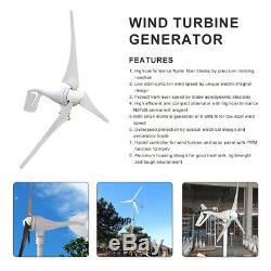 500W Wind Turbine Generator 12V Kit 400W Generator 100W Solar Panel Home power