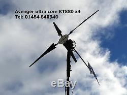 600 watt 3 green blade wind generator DC 48v wind turbine