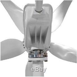 600W 24V Wind Turbine Generator 5 blades CCTV, Hut, Cabin, Boat, Off grid power