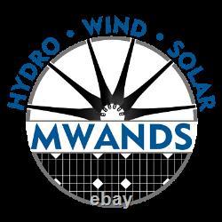 7 Blade 1600 Watt Sealed Wind Turbine Black Blades Missouri Wind and Solar