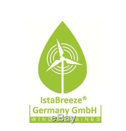 700W, 12V, 24V, 48V Windgenerator, Windturbine, Windkraftanlage IstaBreeze
