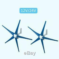 8000W 5 Blades 12V/24V Wind Turbines Generator Horizontal Wind read description