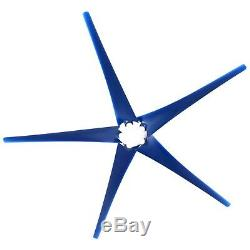 8000W Max Power 5 Blades DC 12V Wind Turbine Generator Kit with Charge Controller
