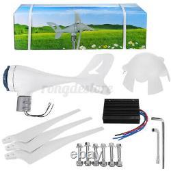 8000W Wind Turbine Genertor Kit 12/24V Aerogenerator 3/5/8 Blades with Controller