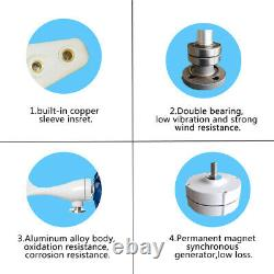 800W Max Power 5 Blades DC 24V Wind Turbine Generator Kit With Charg