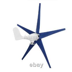 9000W Max Power 5 Blades 12/24V Wind Turbine Generator Kit with Charge