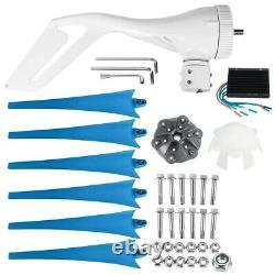 9000W Powerful 6 Blade 12V/24V Wind Turbine Generator Kit