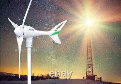 Apollo 550 W Watt 24 V AC (3Blades) Wind Turbine Generator Land/Marine Use