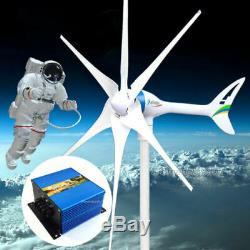 Apollo 800 W Watt 24 V AC Magnet PMA Wind Turbine Generator 6 Blade +Controller
