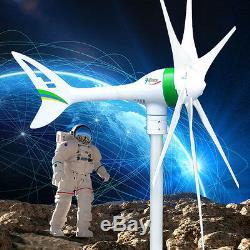 Apollo MAX 1000 W 24 V DC Magnet PMA Wind Turbine Generator 6 Blade +Rectifier