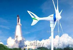 Apollo MAX 650 W Watt 12 V AC Magnet PMA Wind Turbine Generator 6Blade