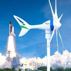 Apollo MAX 650 W Watt 24 V DC Magnet PMA Wind Turbine Generator 6Blade+Rectifier