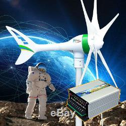 Apollo1000 W 12 V AC Magnet Wind Turbine Generator 6 Biade + Hybrid Controller