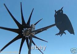 Commander Wind Turbine generator OWL TAIL 11 Prop 1000 Watt 48 Volt DC 2 Wire