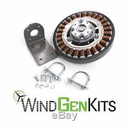 FP-640 PMA & Bracket Permanent Magnet Alternator Wind Turbine Generator