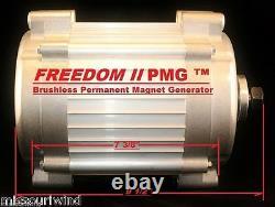 Freedom II 12 Volt 2000 Watt Max 9 Blade Turbine & MidNite Solar Classic 150 Kit