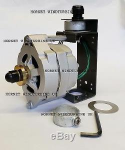 Hornet UK 12v AC 6 green blades wind generator turbine, powerful 14 magnet 80amp