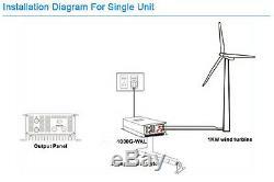 Hurricane Vector 48 Volt Grid Tied Wind Turbine Kit 1000 watt Wind Generator