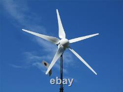 Hurricane Vector 48 Volt Wind Turbine Generator Kit 2500 Watt 1000 Continuous