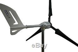 I-1000 W, 24V, 48V, Windgenerator, Windturbine, Windkraftanlage IstaBreeze