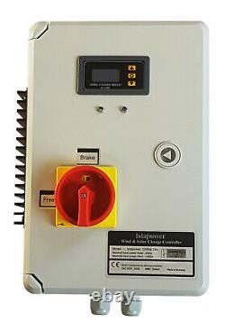KIT i-700W 12V Windgenerator + Hybrid Charge Controller iSTA-BREEZE