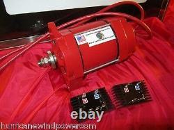 Low Wind Turbine Generator Permanent Magnet Alternator Hurricane Cat V PMA