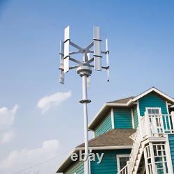 Mini Vertical Axis Wind Turbine Generator 10W 12Vdc Windmill Generator Max 15W 5