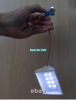 Mini Wind Turbines Generator Hydraulic Water Generator Teaching DIY Kit Test