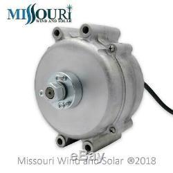 Missouri Freedom 12 Volt 1600 Watt 5 Blade Wind Turbine Generator Kit Gray