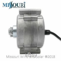 Missouri Freedom 12 Volt 1600 Watt 7 Blade Wind Turbine Generator Kit Black