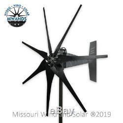 Missouri Freedom 24 Volt 1600 Watts Max 7 Blade Wind Turbine Generator